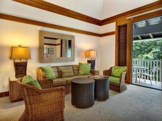 Tropical View+Vibe! Full Kitchen, WiFi, Ceiling Fans, Lanai–Kiahuna Plantation
