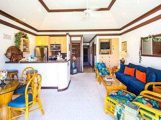 Bright+Open w/Modern Kitchen+Bath, Lanai, WiFi, Flat Screen–Kiahuna Plantation