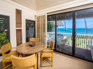 Beach Bliss+High Style! Modern Kitchen, Large Lanai, WiFi–Kiahuna Plantation