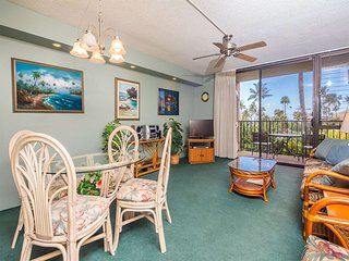 Laid Back Condo Comfort w/AC, WiFi, Washer/Dryer, Kitchen Perks–Kamaole Sands