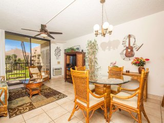 Easy Maui Living! Full Kitchen, WiFi, Washer/Dryer, Lanai–Kamaole Sands 5213