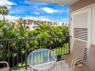 Comfy Hawaiian Suite w/Lanai, Kitchen, WiFi, Washer/Dryer–Kamaole Sands 9205