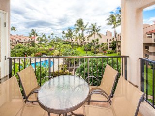 2-Story w/Relaxing Lanai, Island Décor, Kitchen, Washer/Dryer–Kamaole Sands 5411
