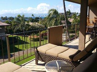 Ocean Views from Maui Eldorado One Bedroom/Two Bath D206!  Private Location!