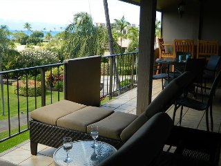Ocean Views from Maui Eldorado One Bedroom/Two Bath D206!  Private Location!