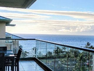 Great Ocean & Mountain Views & Huge Party Lanai! - Honua Kai - Hokulani 836