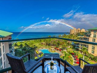 Maui Westside Properties - Honua Kai H709 Best Ocean Views Huge Lanai  w/BBQ!