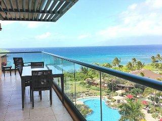 Top of the Stack! Best Ocean Views! Wraparound Lanai - BBQ! Hokulani 709!