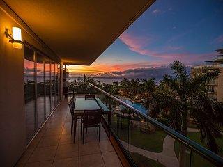 Lanai View at Sunset