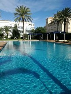 Apartment with 2 rooms in denia, with pool access, enclosed garden and WiFi