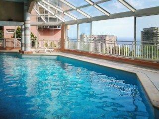 Stylish sea-view studio near Monaco