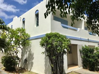 The Blue Frenchie: Gorgeous 2-story townhouse in Pelican Key, St. Maarten