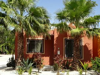 Casa Palmas with Private Swimming Pool in Mexico, Walk to Xcacel Beach & Cenotes