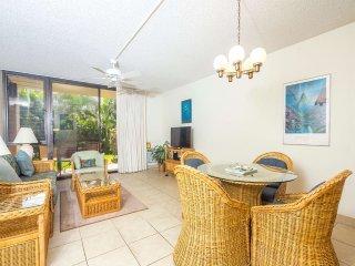 Comfortable, Casual Condo w/Lanai, Kitchen Ease, WiFi, AC–Kamaole Sands 9108