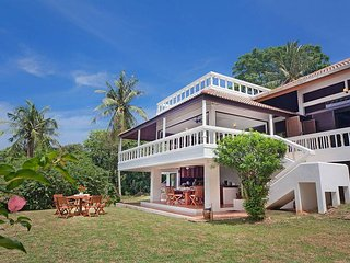 3 Bedroom Holiday Villa in Phuket, just steps away from a Private Sandy Beach.