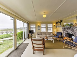 Beachfront West Yarmouth Cottage w/ Deck & Views!