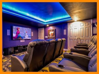 Formosa Gardens 106 - Superior villa with pool and theater room near Disney