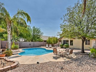 Chandler Home w/Private Pool 10 Min to Bear Creek!