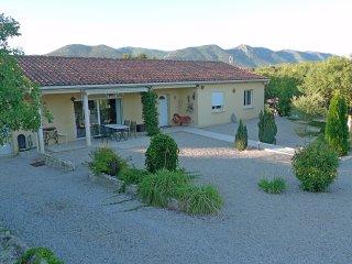 Villa de vacances 110m²  3 ch  6 pers+, calme, nature, porte Cévennes, rivière