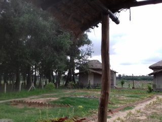 This is a village homestay inbound of nature with an open air restrurant.