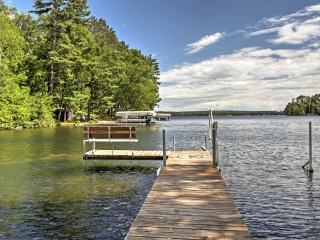 Lakefront Hayward Cabin w/Dock in Williams Resort!