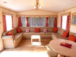 Allen 8 berth caravan at Southview Leisure Park Skegness
