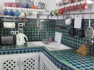 Habitación 'Sherezade' en Casa Aladino, casa de cuento en la medina de Asilah