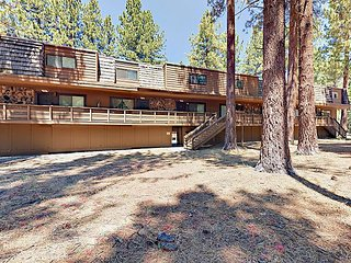 3BR Condo w/ Fireplace, Grill, Ski Shuttle Access - 1 Mile to Lake