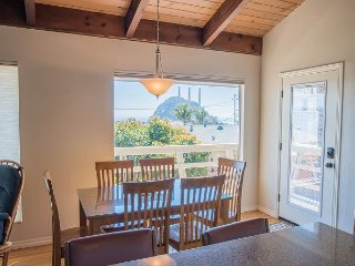 Updated 3BR w/ Ocean Views, Deck, & Ping Pong Table–Near Embarcadero & Beach