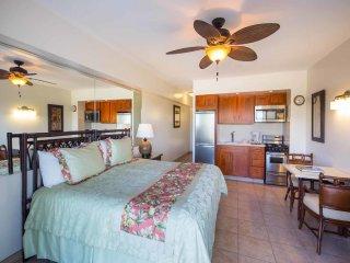 Tropical Studio w/Ocean View, Free WiFi, Modern Kitchenette –Waikiki Shore 615