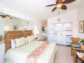 Beachy Penthouse w/Epic Ocean View, Free WiFi, Kitchenette–Waikiki Shore PH03