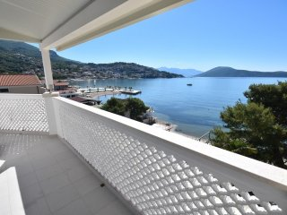 Modern apart 30meters from the beach with a magnificent view of the Adriatic Sea