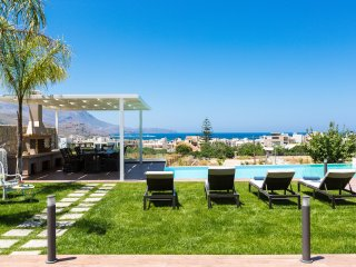 Luxury new villa Anemeli with amazing seaview and private pool
