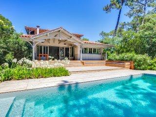 Elégante maison avec piscine au Cap-Ferret