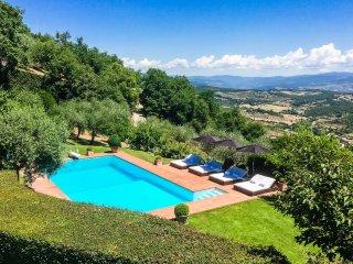 Bellevue, luxury villa with pool near Florence