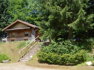 Wooden holiday cottage in Gerbépal, Vosges for 4 persons