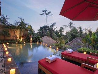 Paradise Landscape Pool Villa Ubud