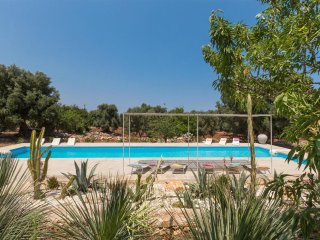 379 Villa with Pool and Panoramic Sea in Carovigno