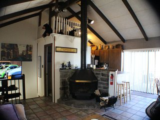 Stay Cool at the Bear's Loft, updated 2/1.5 with Bunks; budget / family friendly