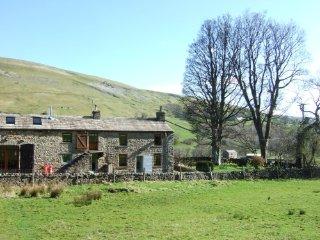 The Rash, stunning detached house, rural isolated location near Muker, sleeps 9