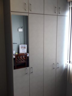 Two sets of closets in the adjoining 2nd room.