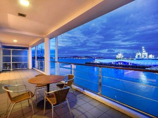 Two Bedroom Waterfront Apartment with Large Balcony on Eastern Side of Princes