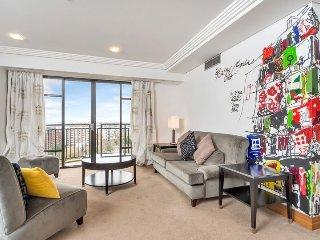 Spacious Metropolis Reisdences 1 Bedroom Serviced Apartment. Views over Auckland