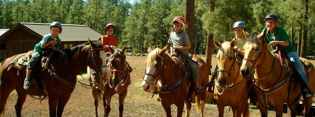Horseback riding for all ages