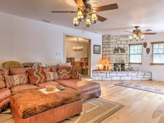 Kerrville Mtn. House w/Outdoor Entertainment Area!