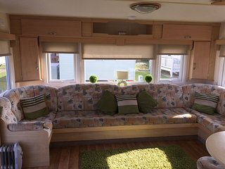 10 Berth Caravan on Golden Palm, Chapel St Leonards