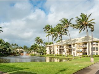 Sit back & relax at the Kauai Beach Villas Resort!