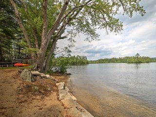 Kezar Lake Home w/ Sandy Beach & Boat Dock!
