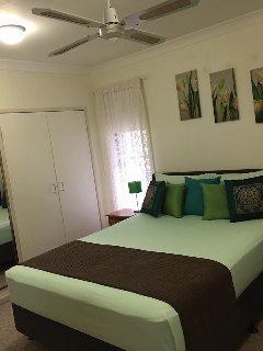 Bedroom 1: Summer decor.