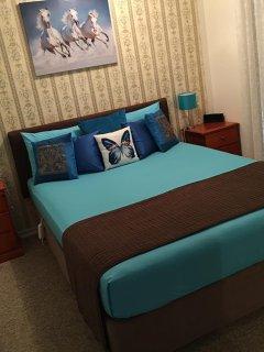 Bedroom 3 summer decor.
